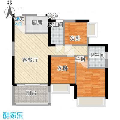 金地梅陇镇二期深圳金地梅陇镇二期户型图2户型10室
