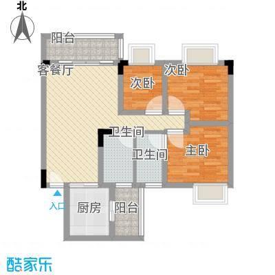 美丽家园深圳美丽家园户型图4户型10室