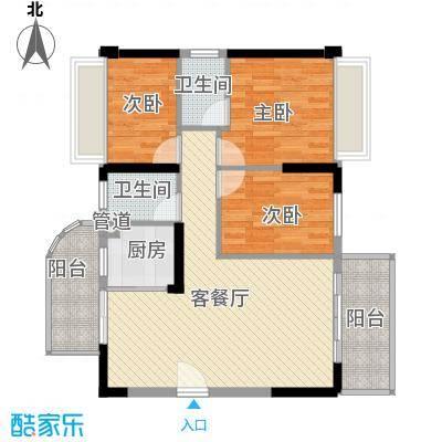 香缇雅苑88.00㎡深圳香缇雅苑户型图6户型10室