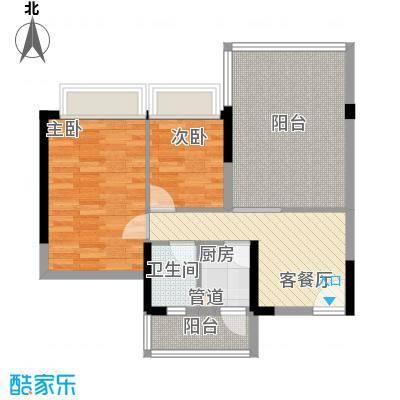 书苑雅阁书苑雅阁户型图户型图_52室2厅1卫1厨户型2室2厅1卫1厨