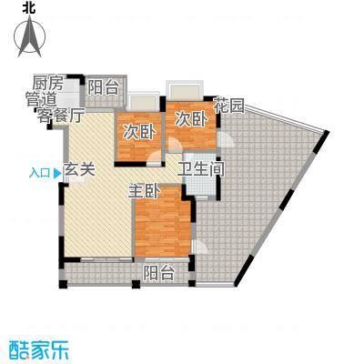 桂冠华庭桂冠华庭户型图G4户型3室2厅1卫户型3室2厅1卫