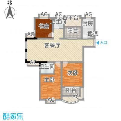 新港名仕花园139.00㎡新港名仕花园户型图C1户型3室2厅2卫1厨户型3室2厅2卫1厨