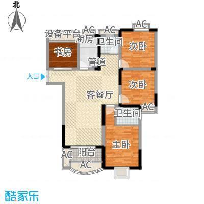 新港名仕花园140.00㎡新港名仕花园户型图C5户型3室2厅2卫1厨户型3室2厅2卫1厨