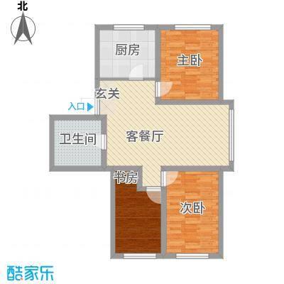 鹏辉广场102.46㎡鹏辉广场户型10室