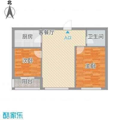 华邦上都86.53㎡华邦上都户型图2室2厅1卫户型10室
