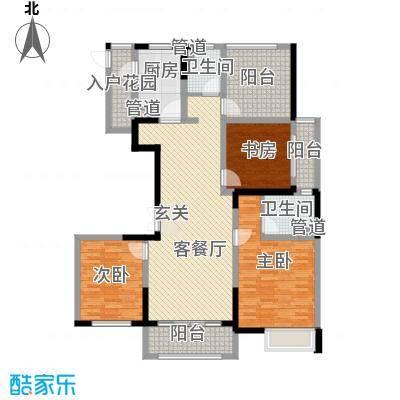 新时代广场156.00㎡03/06户型3室2厅2卫1厨