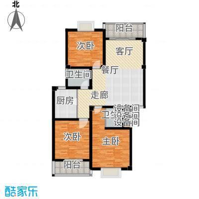 江城壹品134.50㎡A户型3室2厅2卫1厨