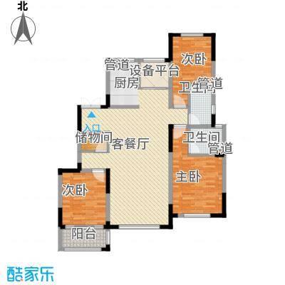 桐园106.00㎡桐园户型图I户型二至二十一层(标准层)2室2厅2卫1厨户型2室2厅2卫1厨