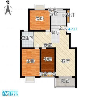 扬州印象花园112.00㎡扬州印象花园户型图B2户型3室2厅1卫1厨户型3室2厅1卫1厨