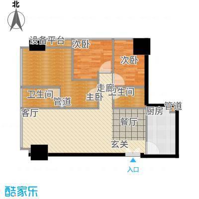 洛桑美地85.00㎡洛桑美地户型图3室2厅户型图3室2厅2卫1厨户型3室2厅2卫1厨