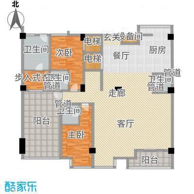 锦绣唐朝261.76㎡锦绣唐朝户型图1号楼203013室2厅4卫1厨户型3室2厅4卫1厨