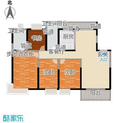 紫薇永和坊紫薇永和坊户型图15#楼190平四室两厅一厨两卫户型图户型10室