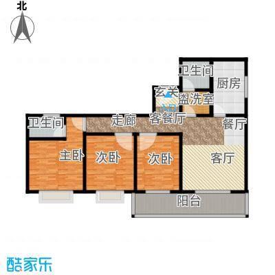 学府中央113.98㎡学府中央户型图113.98平米户型图3室2厅2卫1厨户型3室2厅2卫1厨