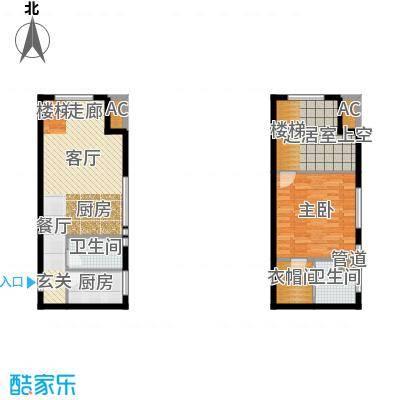 优活城户型图3#A-1-LOFT