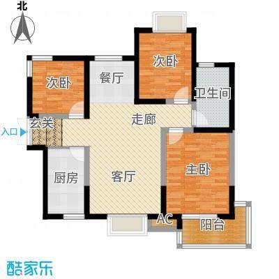 逸景�居112.00㎡逸景�居户型图7/11号楼A户型3室2厅1卫1厨户型3室2厅1卫1厨