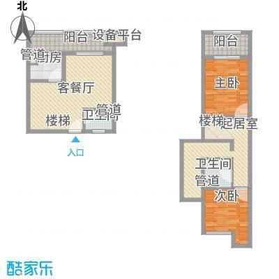 数字365/数字空间124.60㎡数字365/数字空间户型图E11户型2室2厅2卫1厨户型2室2厅2卫1厨