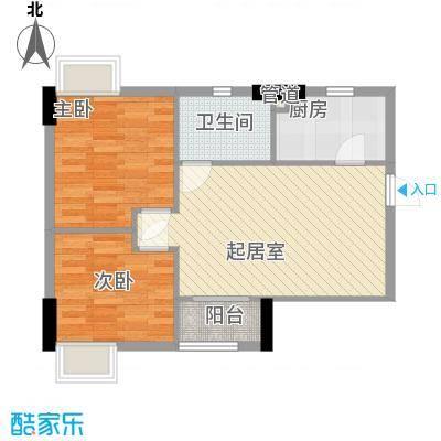 贝丽花园66.00㎡贝丽花园户型图2室2厅66平方米户型图2室2厅1卫1厨户型2室2厅1卫1厨