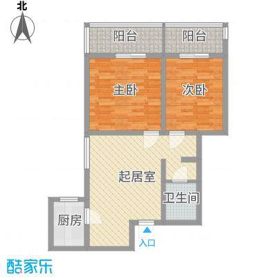 锦绣芙蓉公馆84.60㎡锦绣芙蓉公馆J户型10室
