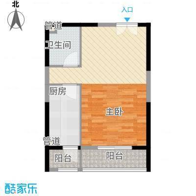 兴庆雅居55.40㎡兴庆雅居户型图C、D户型1室1厅1卫1厨户型1室1厅1卫1厨