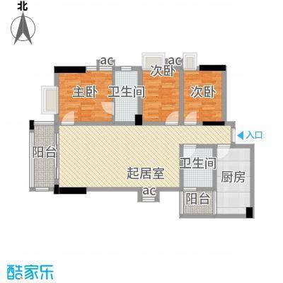 贝丽花园110.00㎡贝丽花园户型图3室2厅110平方米户型图3室2厅2卫1厨户型3室2厅2卫1厨