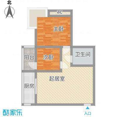 锦绣芙蓉公馆76.42㎡锦绣芙蓉公馆D户型10室