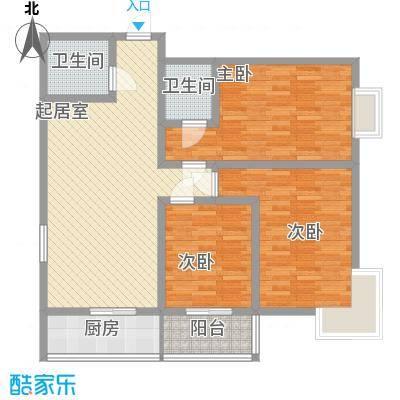 锦绣芙蓉公馆117.60㎡锦绣芙蓉公馆L户型10室