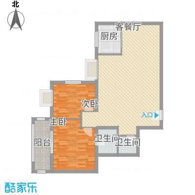 新兴骏景园二期114.25㎡新兴骏景园二期户型图3室2厅2卫1厨户型10室