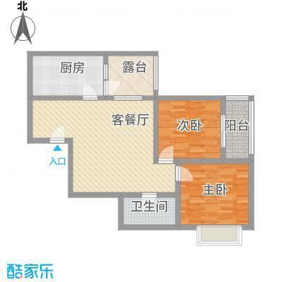 格林春天项目99.56㎡格林春天项目户型图B24B户型2室1厅1卫1厨户型2室1厅1卫1厨