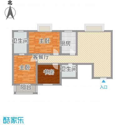格林春天项目119.17㎡格林春天项目户型图13D户型3室2厅2卫1厨户型3室2厅2卫1厨