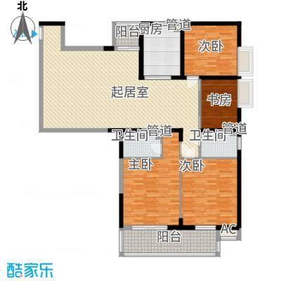 西厦大厦185.08㎡西厦大厦户型图户型图4室2厅2卫1厨户型4室2厅2卫1厨