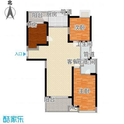 东安叁城130.96㎡东安叁城户型图C3户型图3室2厅2卫1厨户型3室2厅2卫1厨