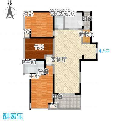 东安叁城141.04㎡东安叁城户型图C4户型图3室2厅2卫1厨户型3室2厅2卫1厨