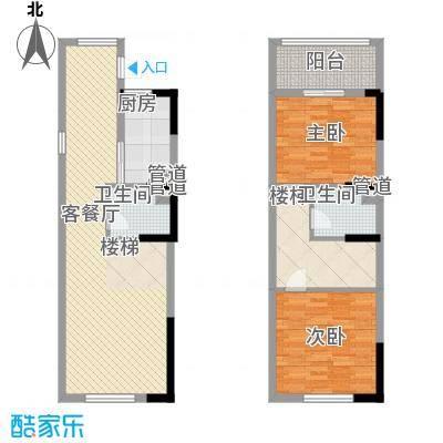 三泰茗居三泰茗居户型图户型-p2室2厅2卫1厨户型2室2厅2卫1厨
