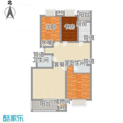 三泰茗居135.17㎡三泰茗居户型图f户型3室2厅2卫1厨户型3室2厅2卫1厨