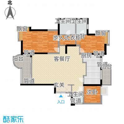南国奥园185.00㎡南国奥园户型图3室2厅户型图3室2厅3卫1厨户型3室2厅3卫1厨
