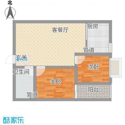 东方花园75.72㎡东方花园户型图J户型两室一厅一厨一卫75.72㎡2室1厅1卫1厨户型2室1厅1卫1厨