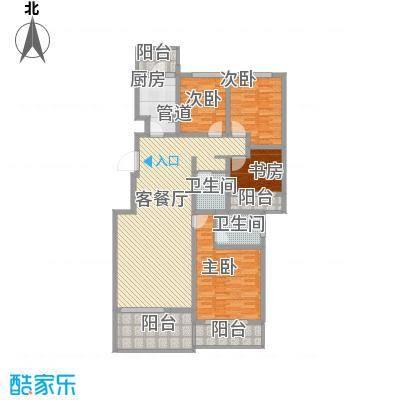 林隐天下125.60㎡林隐天下户型图wl-A2-33室2厅2卫1厨户型3室2厅2卫1厨