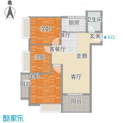 糖果house103.00㎡糖果house户型图D户型3室2厅1卫1厨户型3室2厅1卫1厨