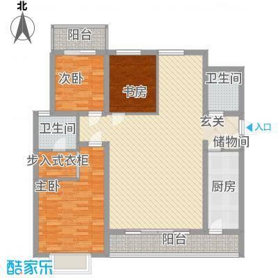 新兴新庆坊135.00㎡新兴新庆坊户型图户型图3室2厅2卫1厨户型3室2厅2卫1厨