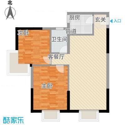 含光静里91.17㎡含光静里户型图户型62室2厅1卫1厨户型2室2厅1卫1厨