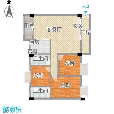 嘉豪雅苑128.61㎡嘉豪雅苑户型图3室2厅户型图3室2厅2卫户型3室2厅2卫