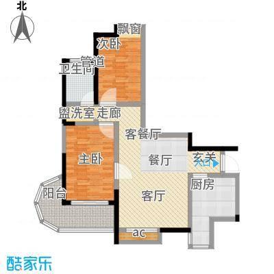新西蓝一期98.06㎡新西蓝一期户型图2室2厅1卫1厨户型10室