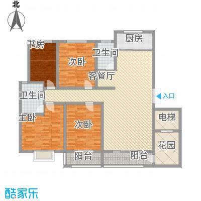 莱安逸境 4室 户型图