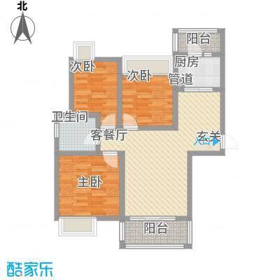 中天花园中天花园户型图3室2厅1卫户型3室2厅1卫