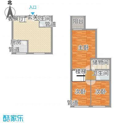 数字365/数字空间144.98㎡数字365/数字空间户型图E6户型3室2厅2卫1厨户型3室2厅2卫1厨