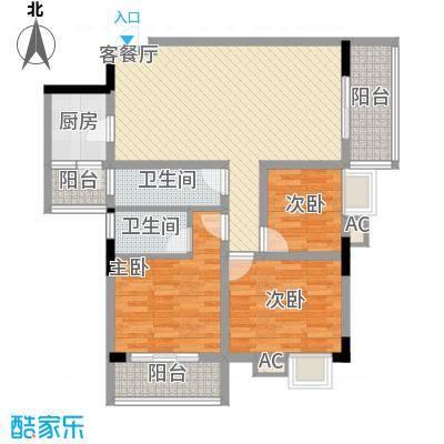 丽园雅庭113.17㎡丽园雅庭户型图3室2厅户型图3室2厅2卫1厨户型3室2厅2卫1厨