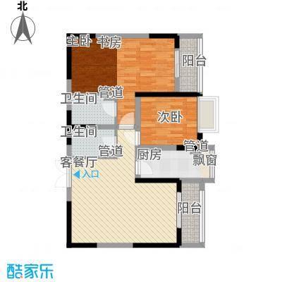 紫薇臻品紫薇臻品户型图2室2厅1卫1厨户型10室