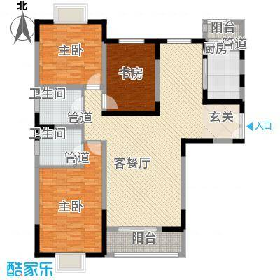 新兴骏景园二期143.00㎡新兴骏景园二期户型图C-01户型3室2厅2卫1厨户型3室2厅2卫1厨
