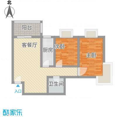 格林春天项目90.03㎡格林春天项目户型图B12D户型2室2厅1卫1厨户型2室2厅1卫1厨