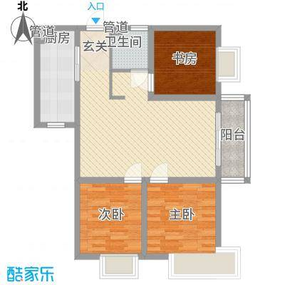 809库单位家属院88.00㎡809库单位家属院户型图3室2厅1卫户型3室2厅1卫